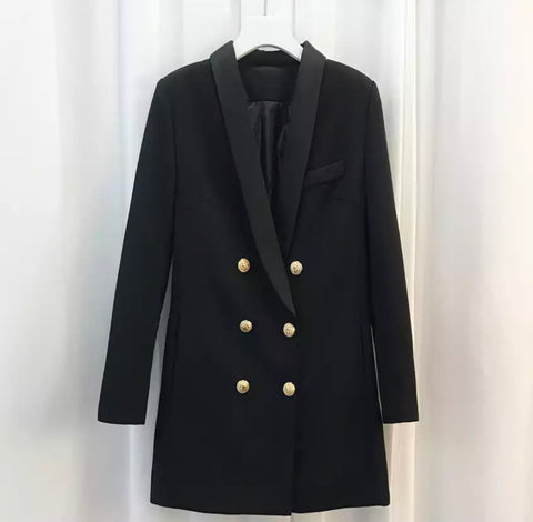 Bella black blazer