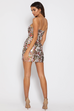 Shanta floral mini dress