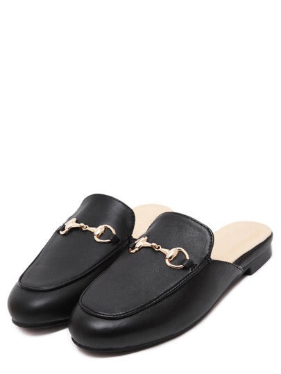 Tammy black loafers