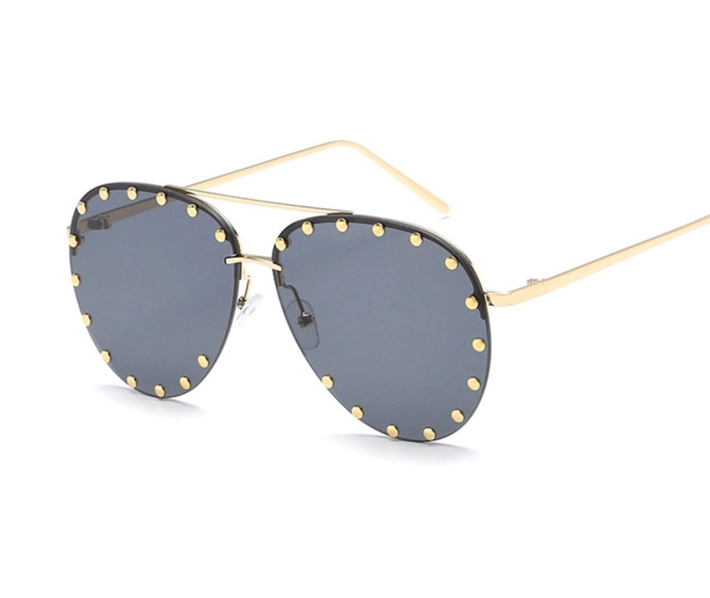 Dynasty gold frame sunglasses