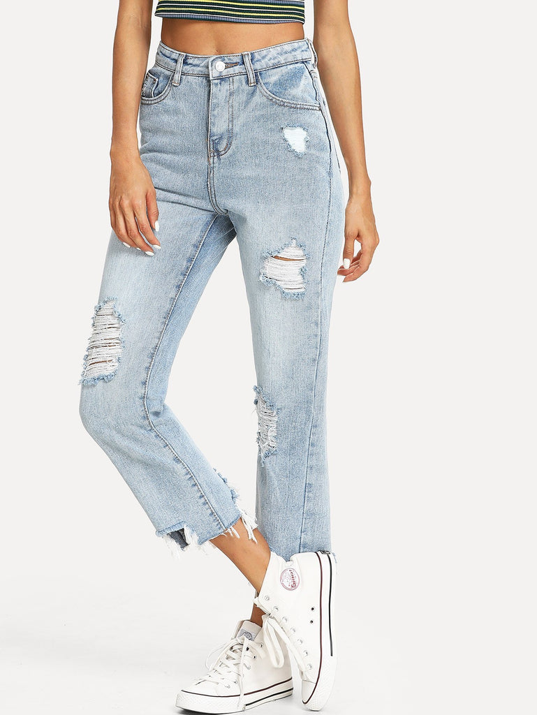 Isabel ripped jeans