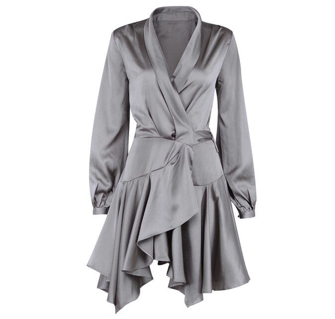 Tiarni grey dress