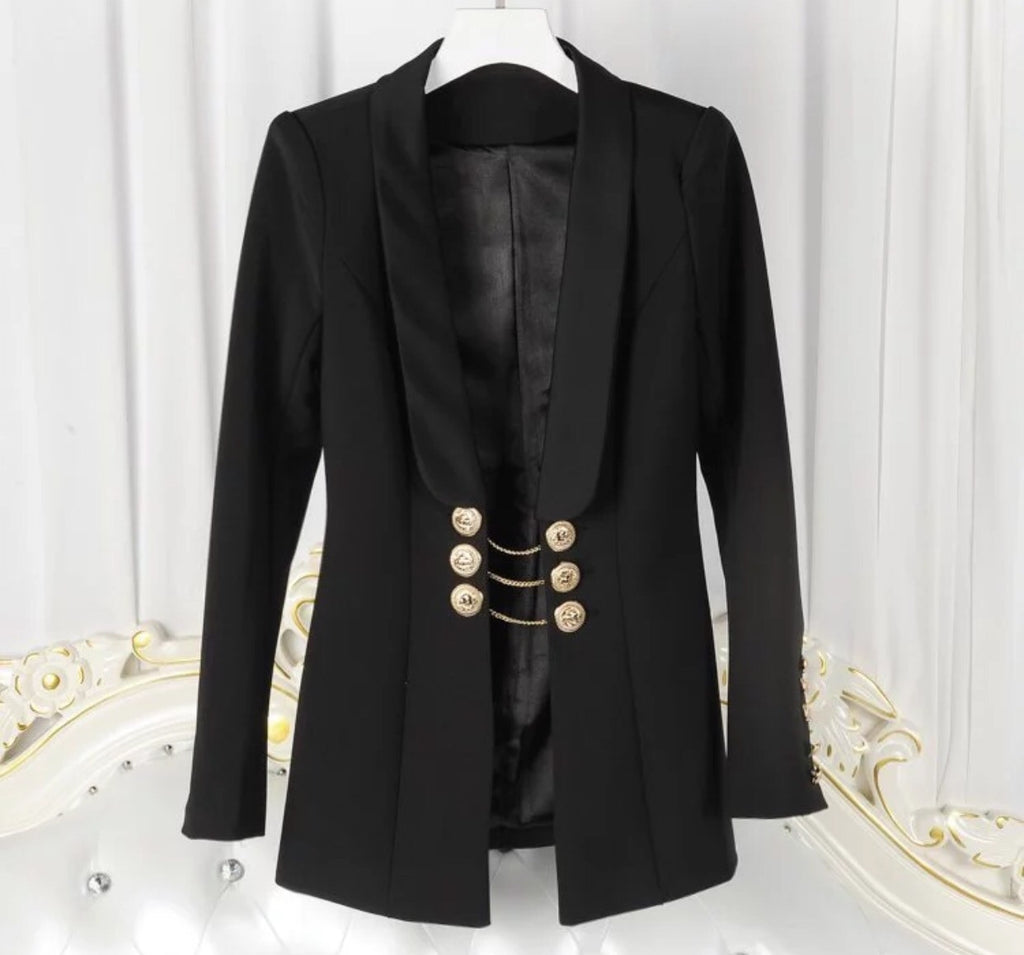 Ellie black blazer