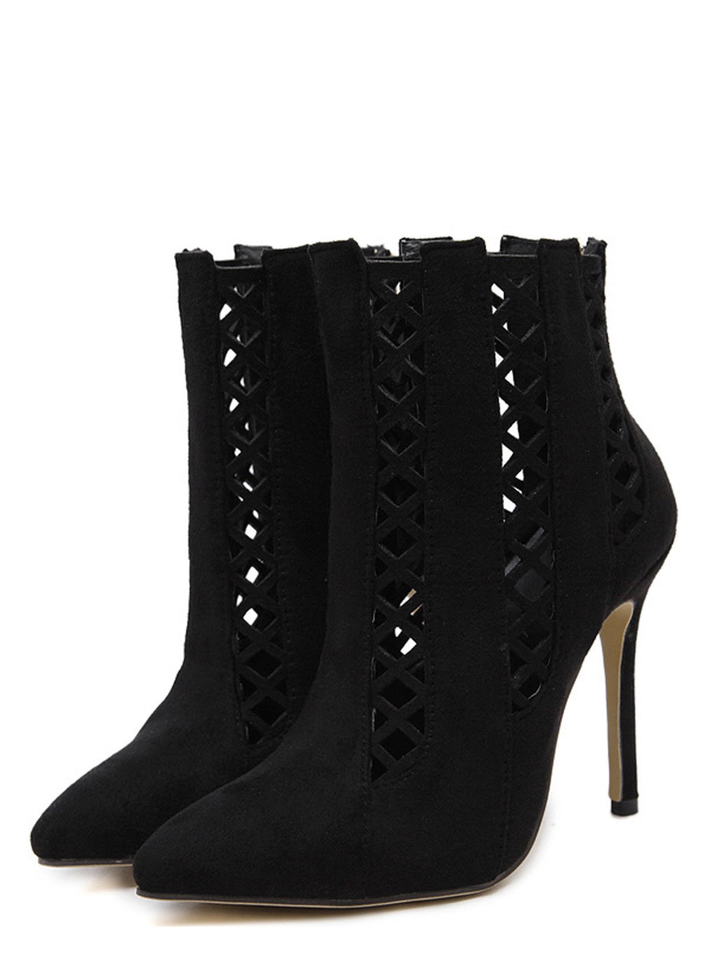 Olivia black ankle boots