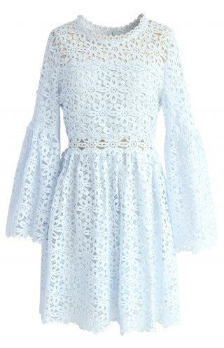Stakes light blue dress