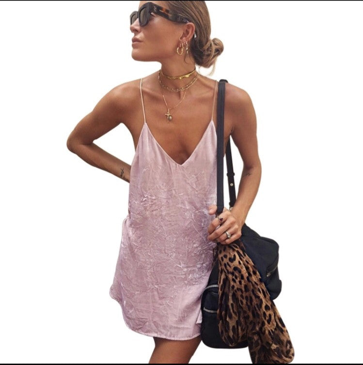 Roze Pink Velvet Dress – Love Storey Boutique