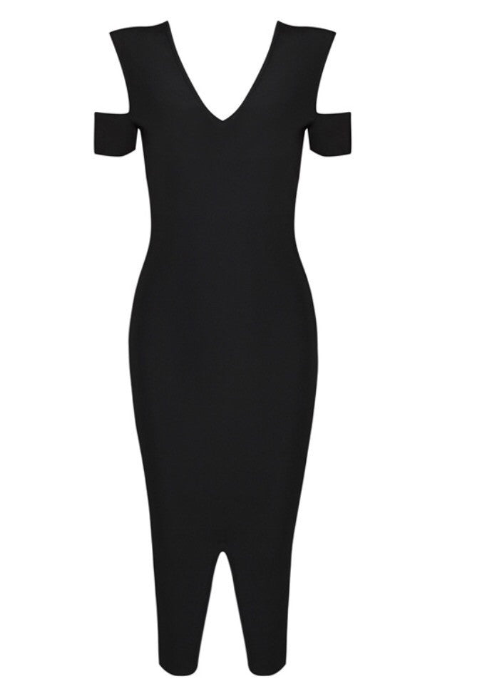 Poets day black dress
