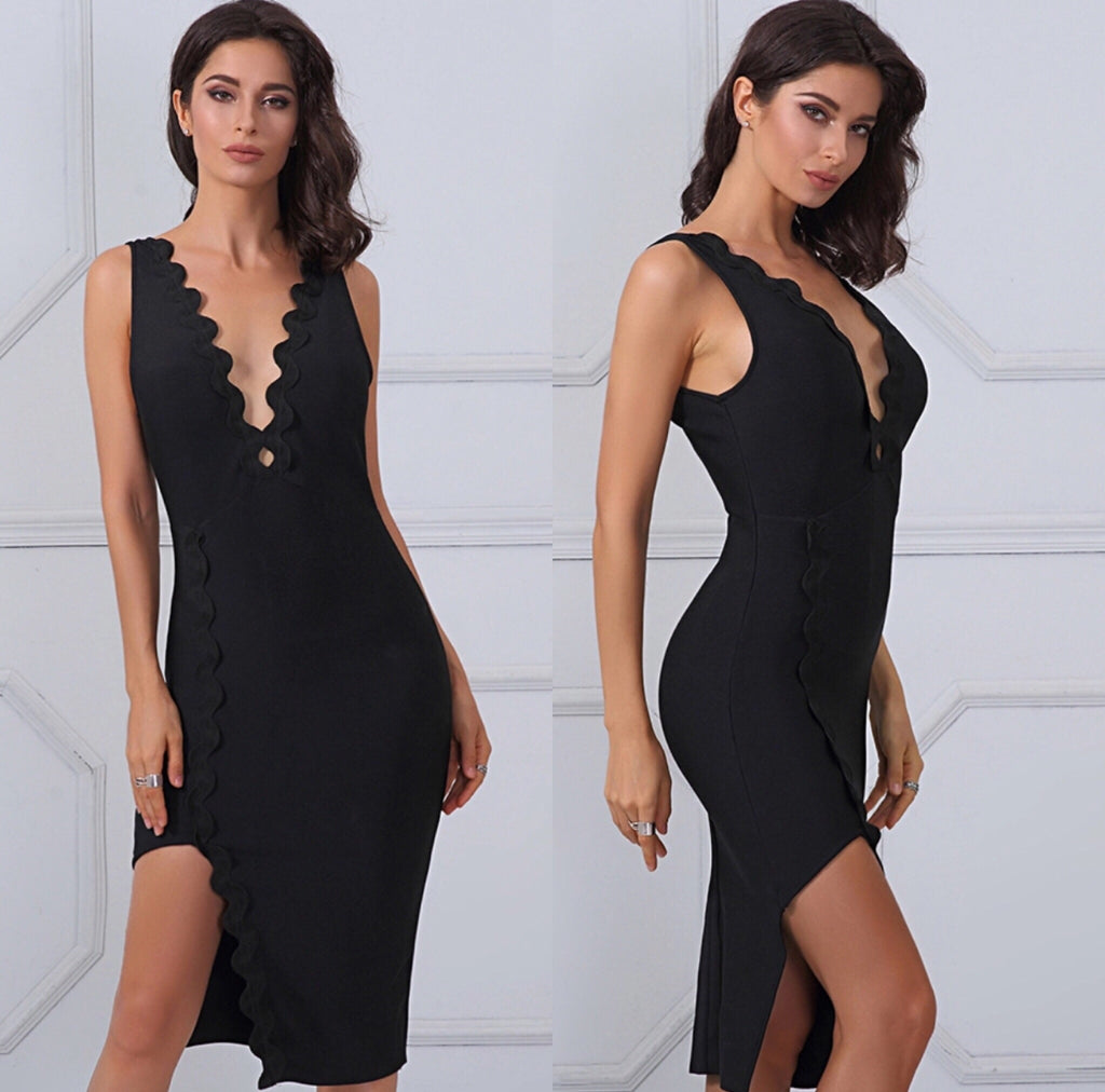 Wick black dress