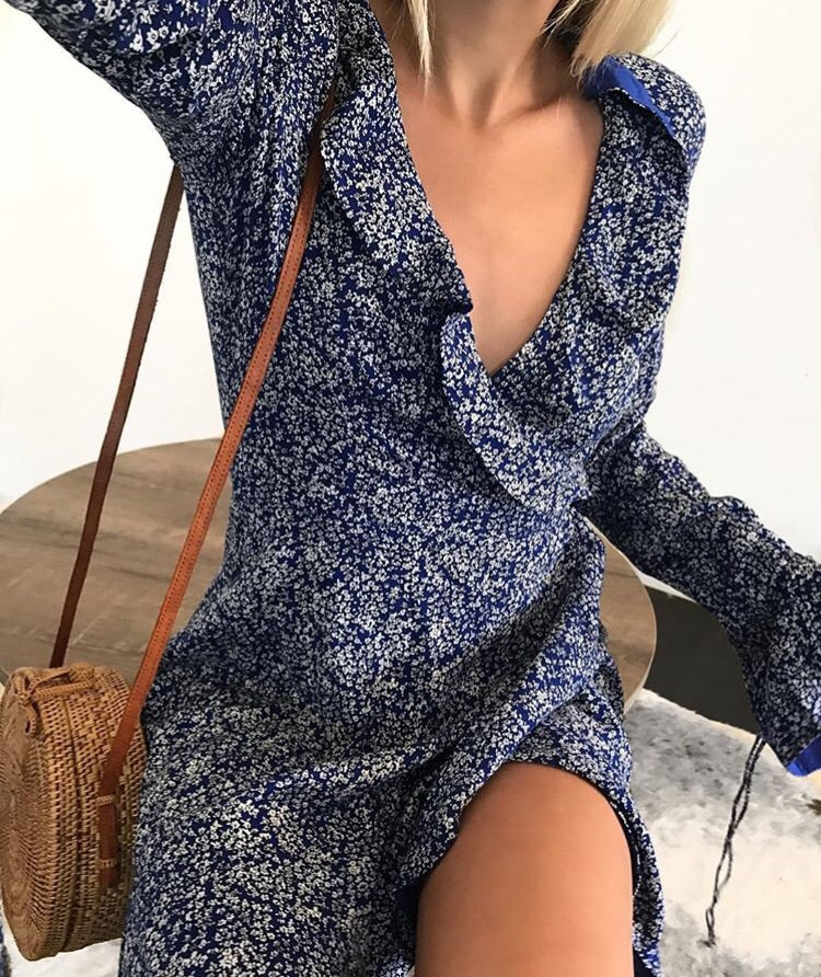 Ballantine Wrap Dress