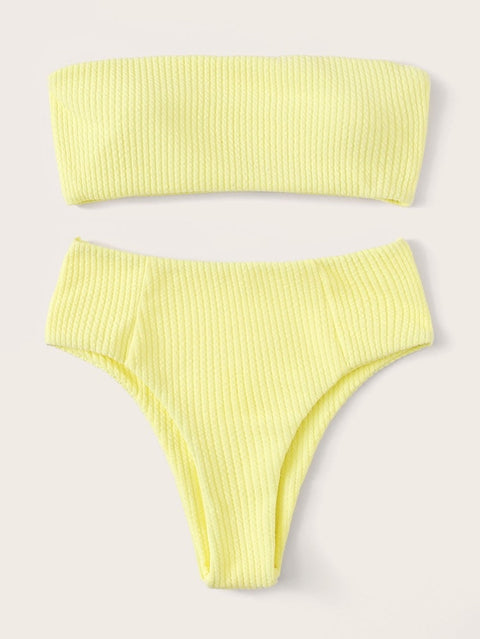 Lagio lemon bikini set