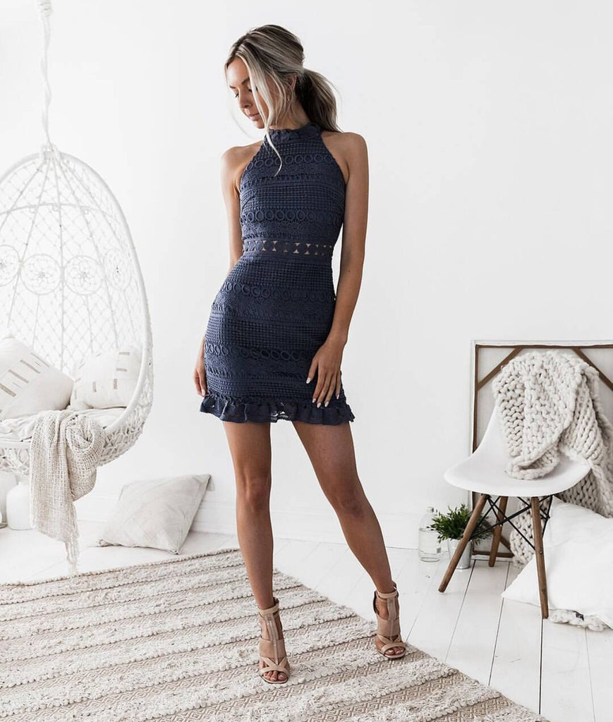 Bola Navy Lace Dress