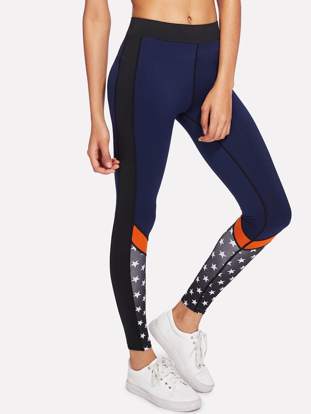 Lemme star print leggings