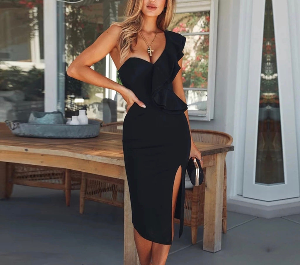 Chrissy black dress