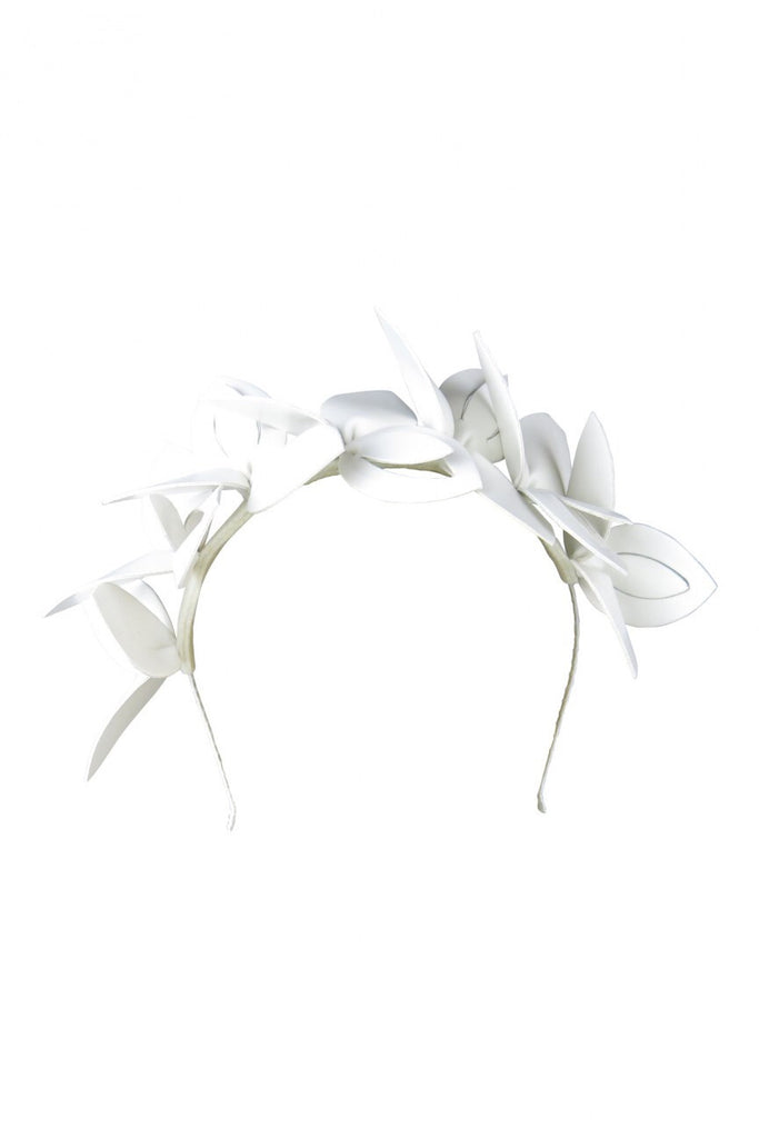 Olivia White Headpiece