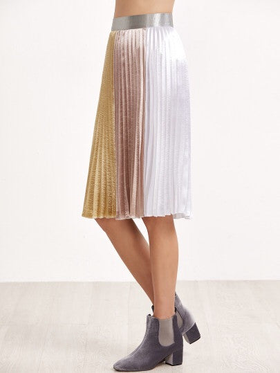 Maddison pleated skirt