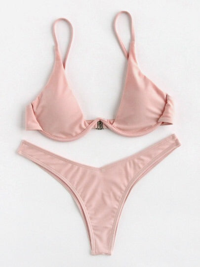 Ronnie blush bikini set