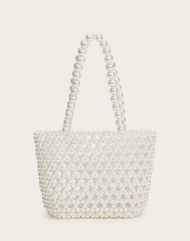 Emma pearl handle bag