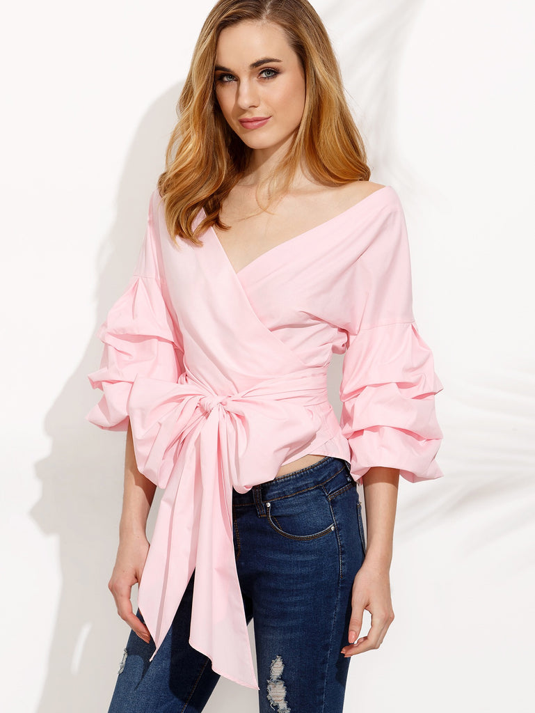 Florence pink blouse