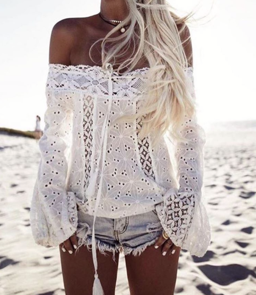 Positano white top