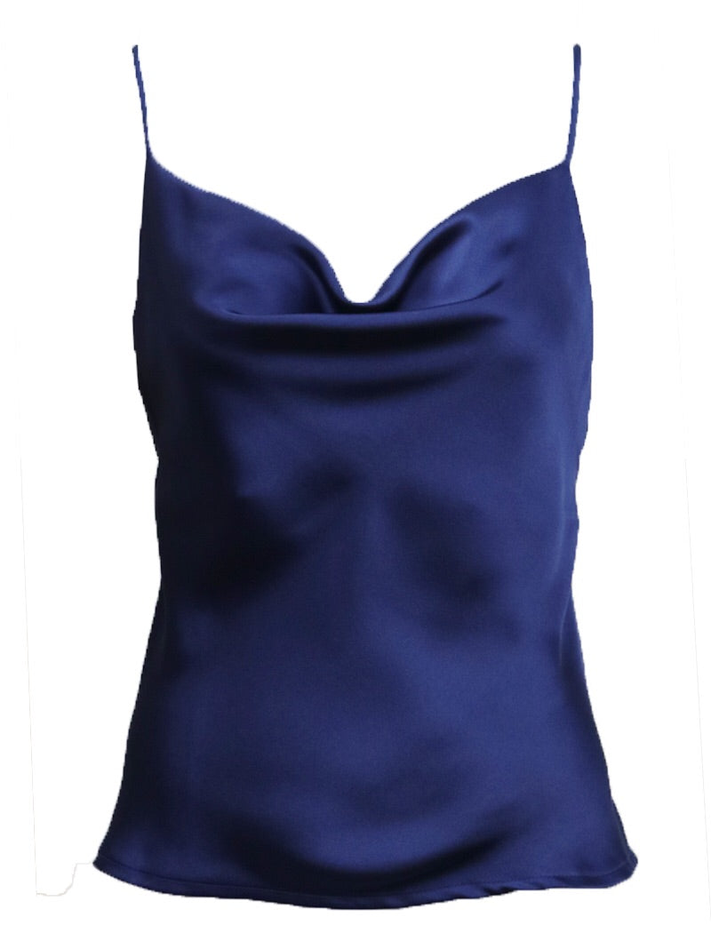 Chloe top available in Navy, Green, Yellow, Pink, Red, Black, Olive and White