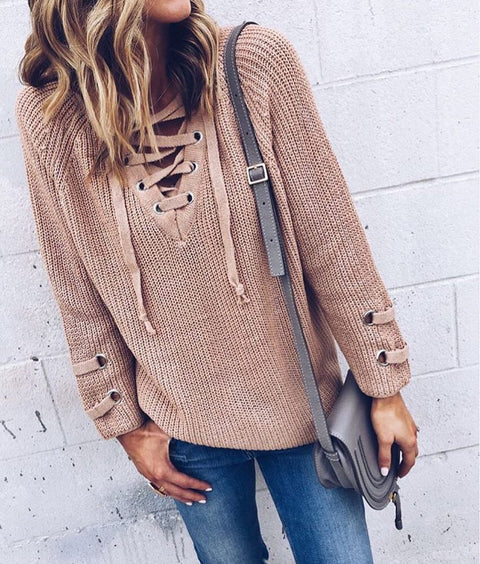 Joanna long sleeve jumper