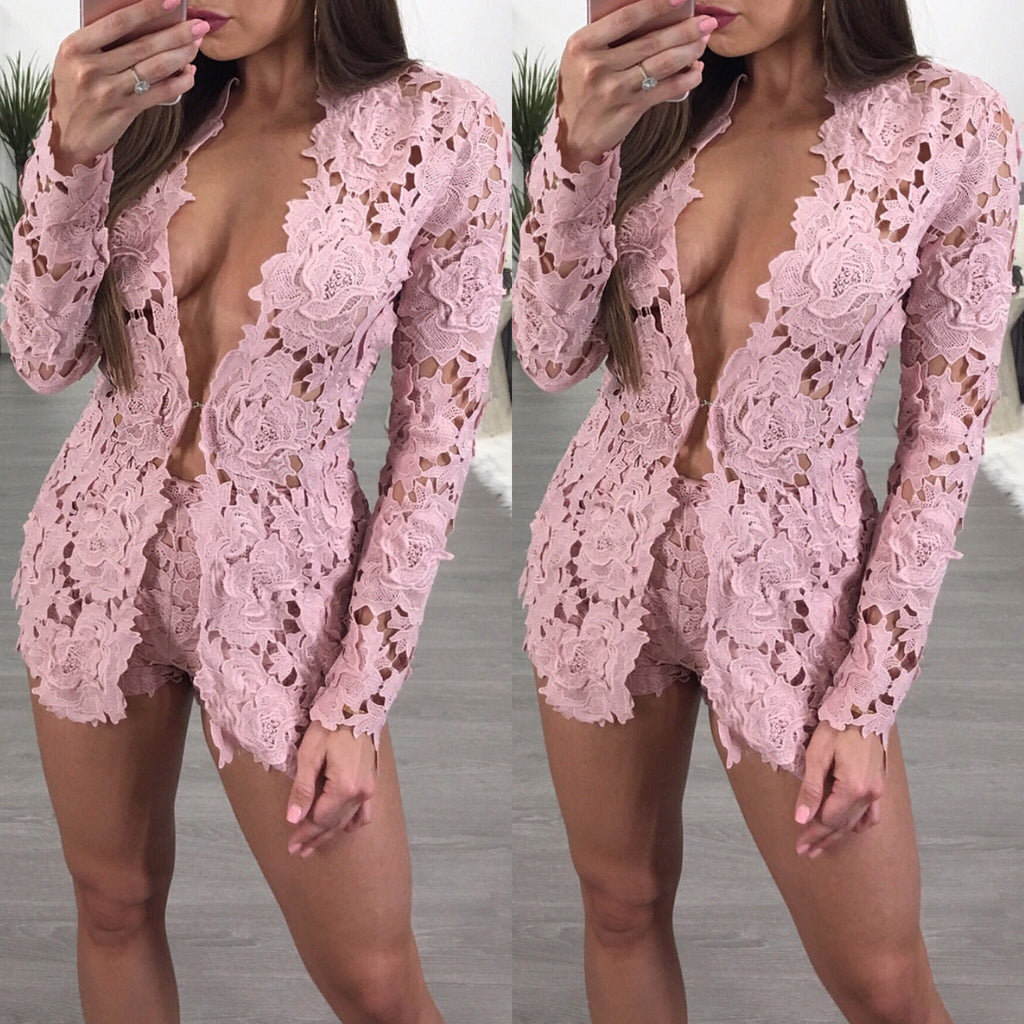 Otto pink top and short set