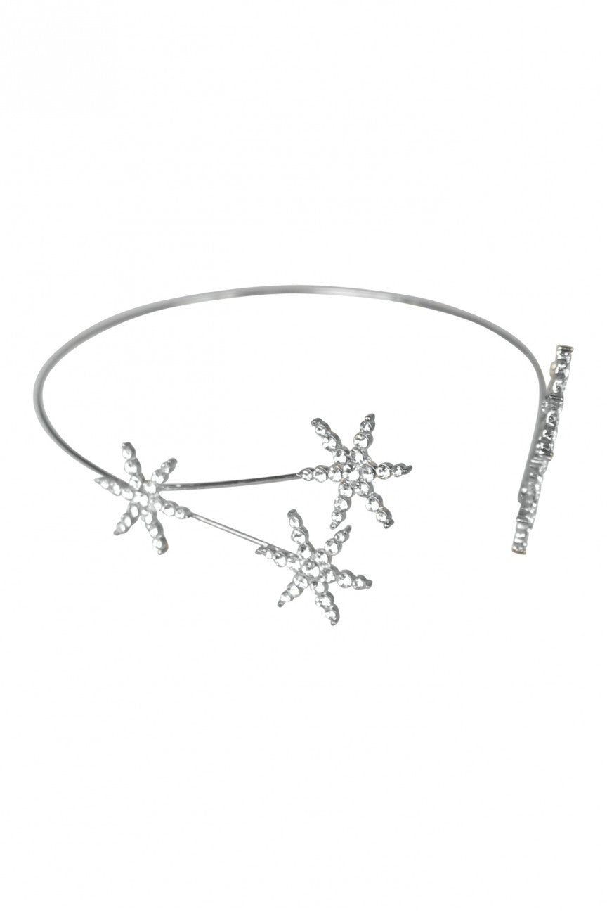 See the stars silver headpiece