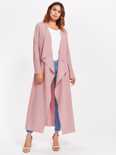 Lana duster trench jacket