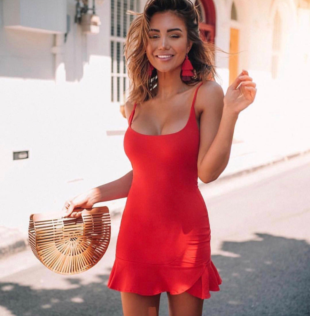 Codie red dress