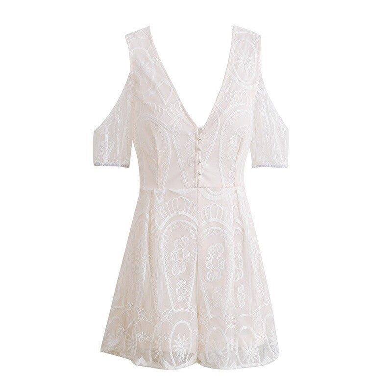 Kingston Lace Up Playsuit