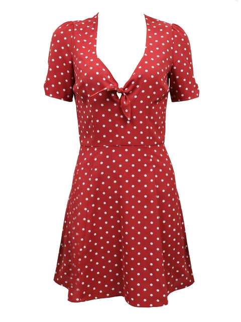 Kimmy polka dot dress