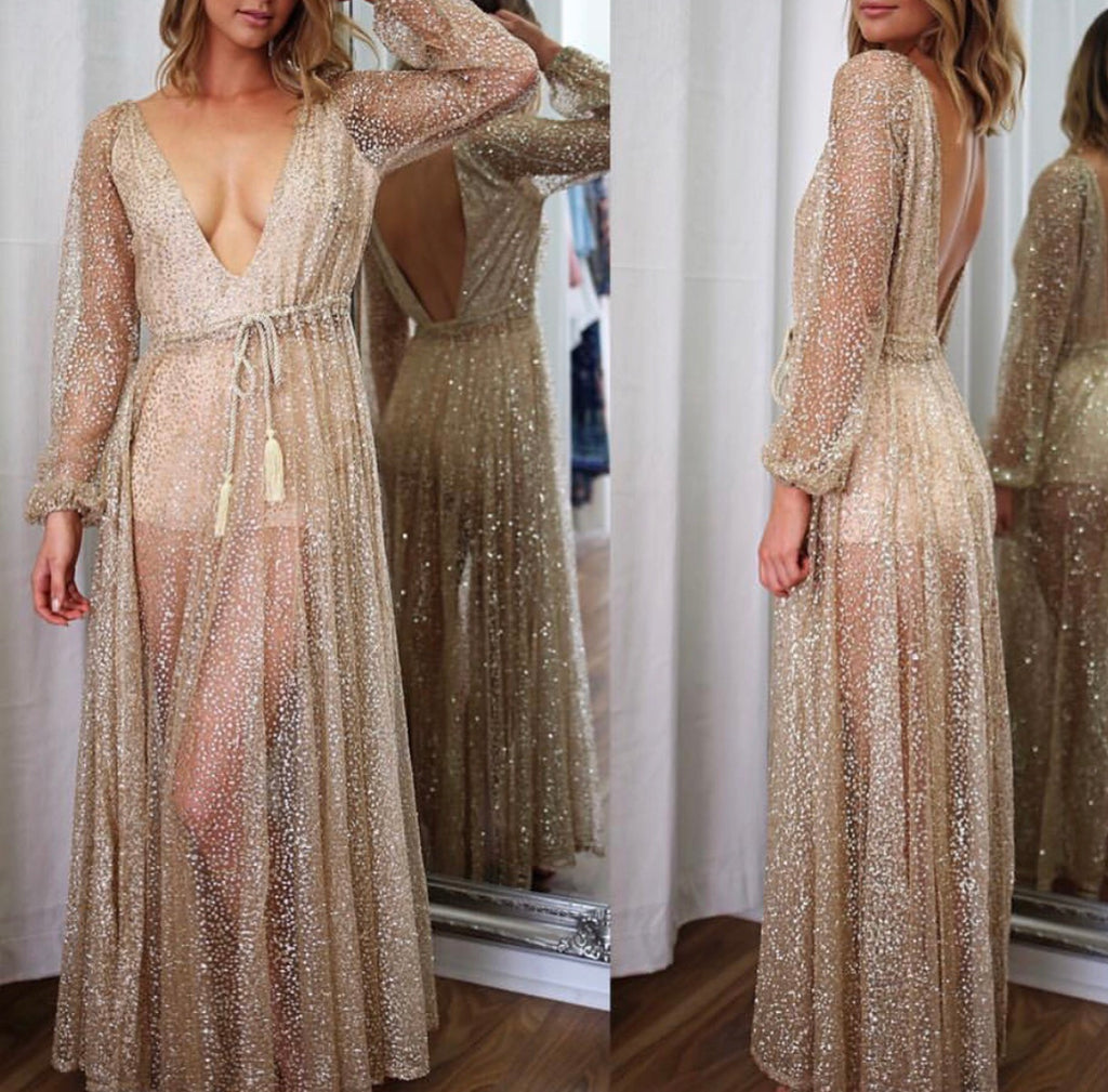 Mary gold maxi dress