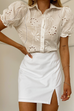 Adriana white blouse