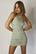 Essential sage dress