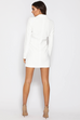 Antonia white blazer dress