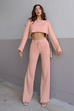 Weaver pink top and pants (sold as separates)