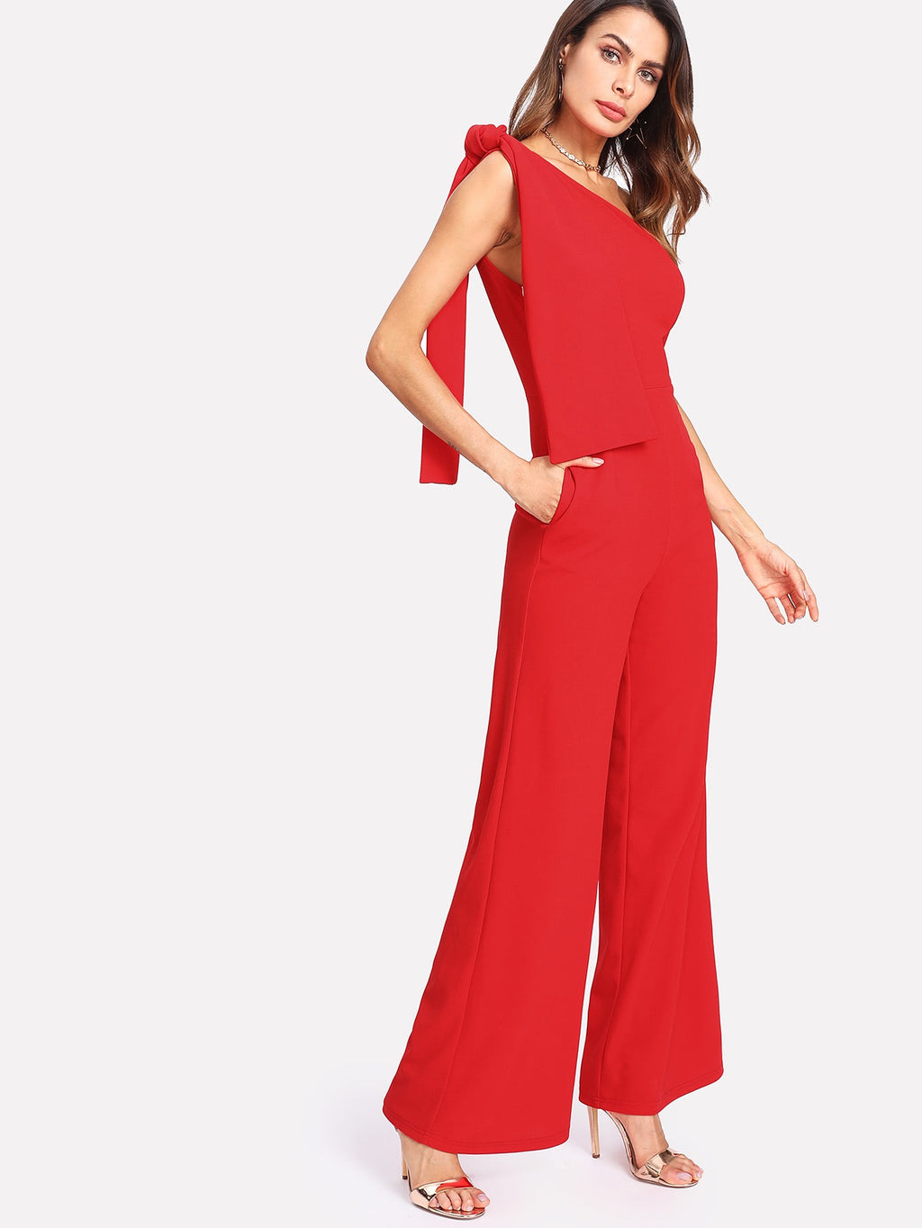 Lana red jumpsuit