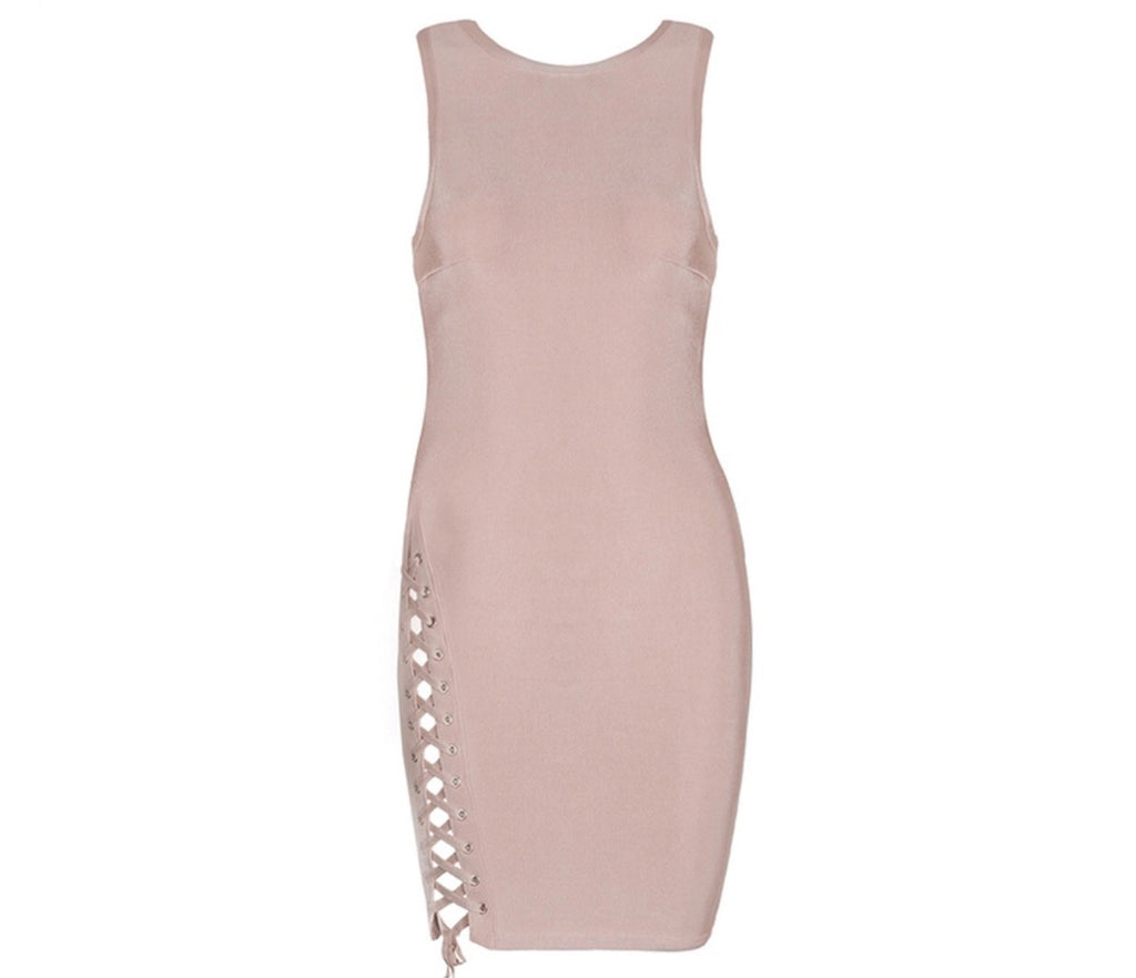 Prive nude dress