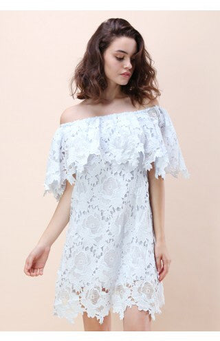 Tanjil off the shoulder dress