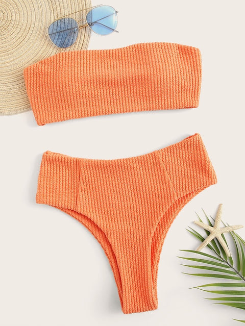 Lagio orange bikini set