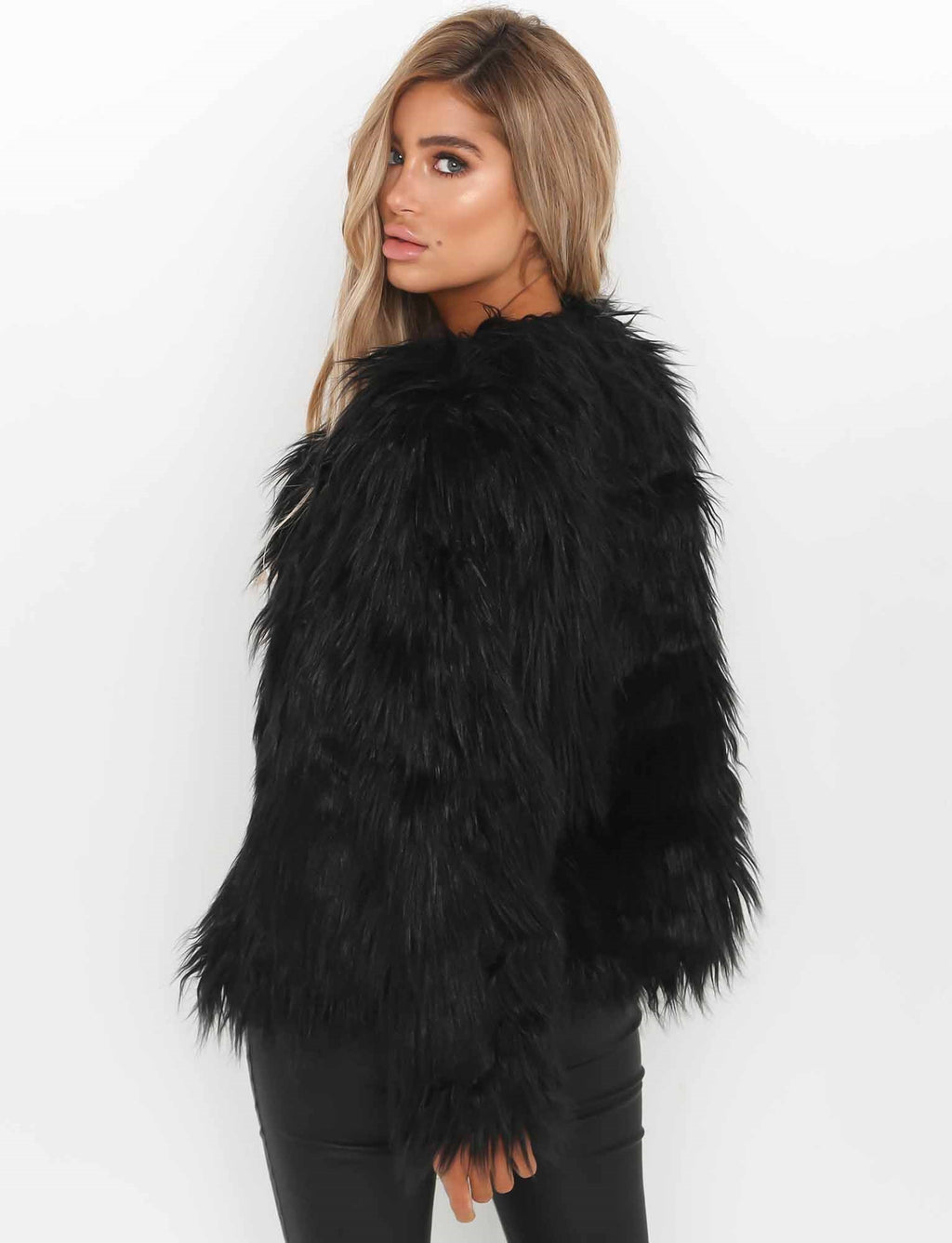 Our women's faux-fur coats offer a variety of styles and colors as well. Cotton, down and leather jackets may be lined for added comfort, and look for options trimmed with fox, rabbit or coyote for a luxe touch.