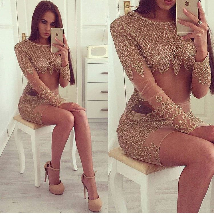 Alias gold dress