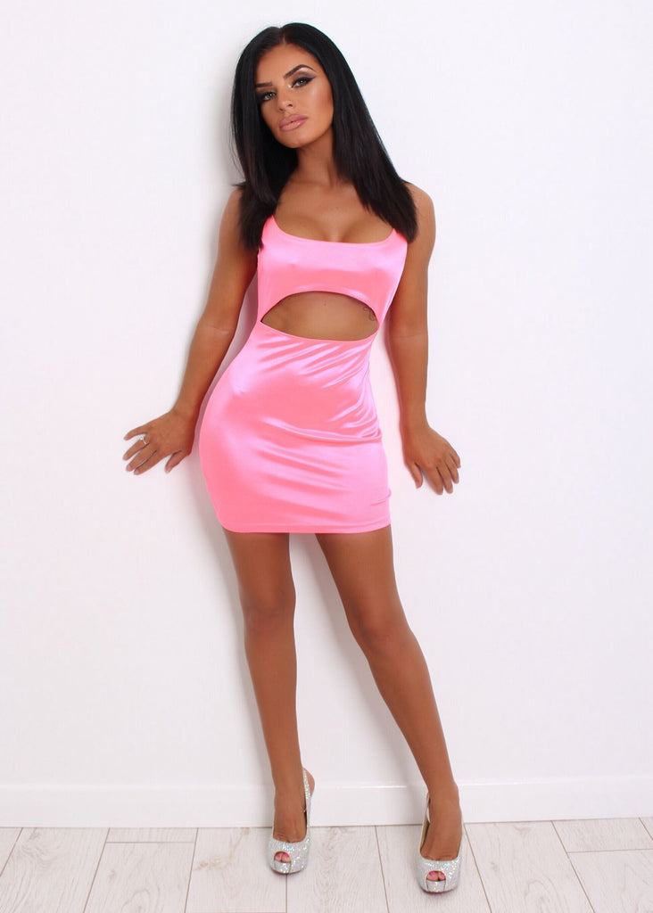 46316ced3e7694 Kimmy neon pink dress – Love Storey Boutique