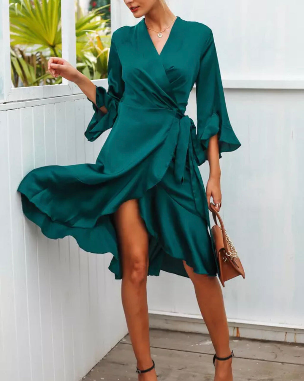 Katie emerald dress