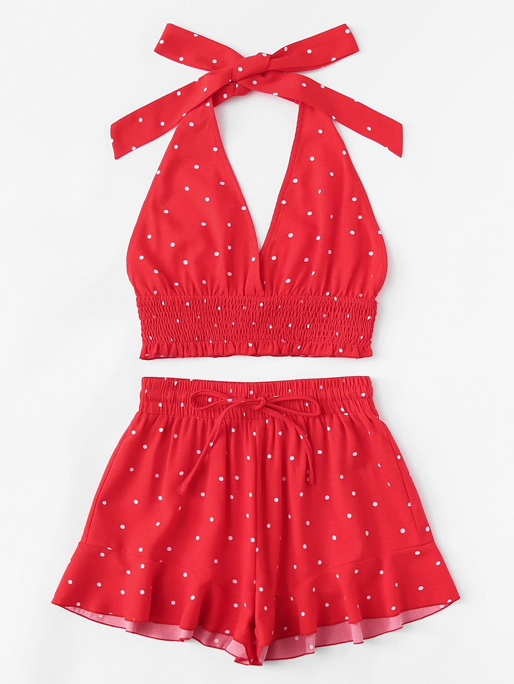 Have you seen her polka dot set