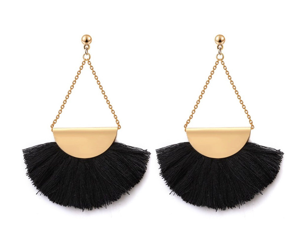 Horizon Tassel Earrings