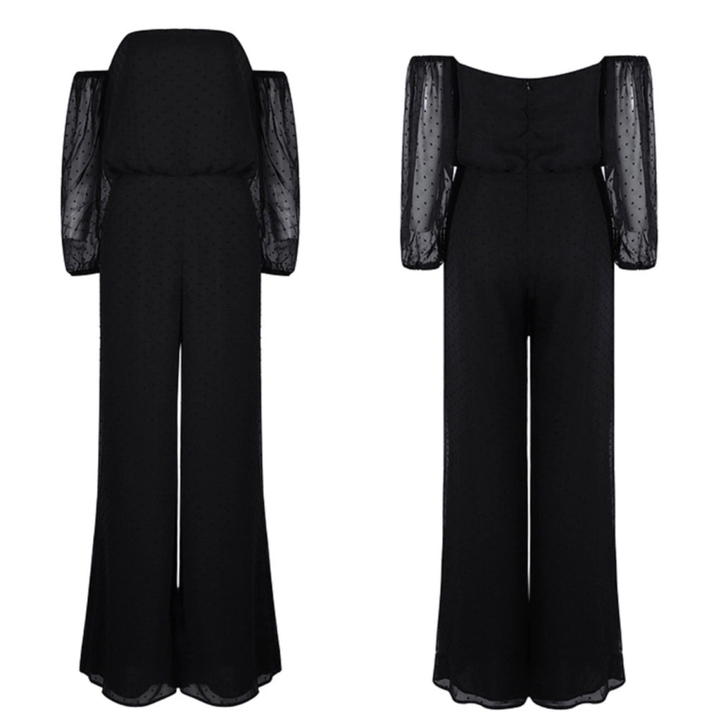 Lucy black jumpsuit