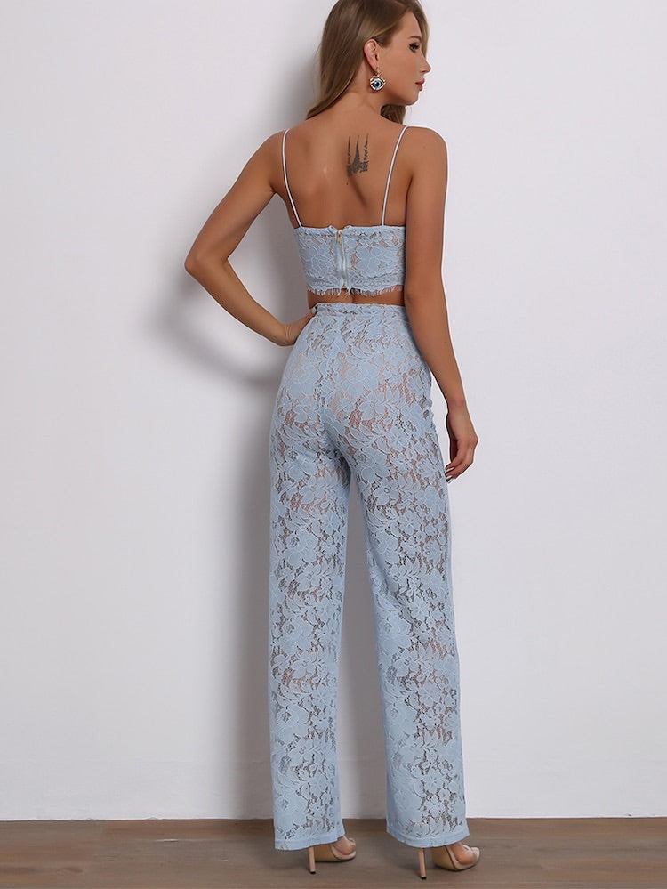 1e247624860d8c Latina light blue lace crop top – Love Storey Boutique