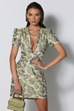 Sookie lime mini dress