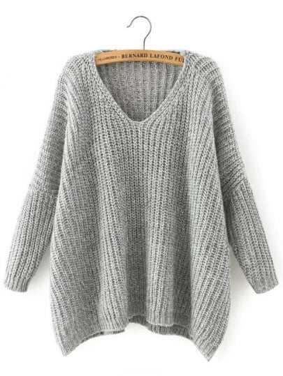 Deliak grey knit